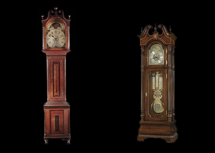 Photos of grandfather clocks